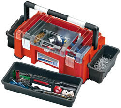 Draper Expert 510mm Tool Box With Side Organisers And Tote Tray