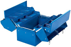 Draper 460mm Barn Type Tool Box With 4 Cantilever Trays