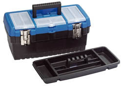 Draper 400mm Tool Organiser Box With Tote Tray