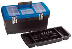 Draper Tool Organiser Box With Tote Tray 480mm