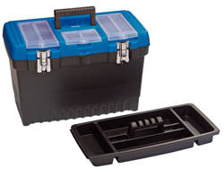 Draper Deep Tool Organiser Box With Tote Tray 480mm