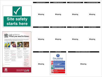 Cheap Health Insurance >> Cheap Safety Signs | Construction Site Notice Board safety sign – Industrial Supplies UK