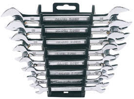 Draper Expert 8 Piece Metric Double Open Ended Spanner Set
