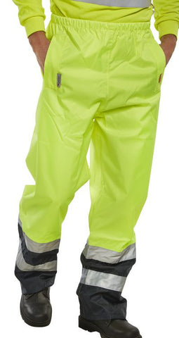 B-Seen Belfry Hi Vis Trousers  - 1