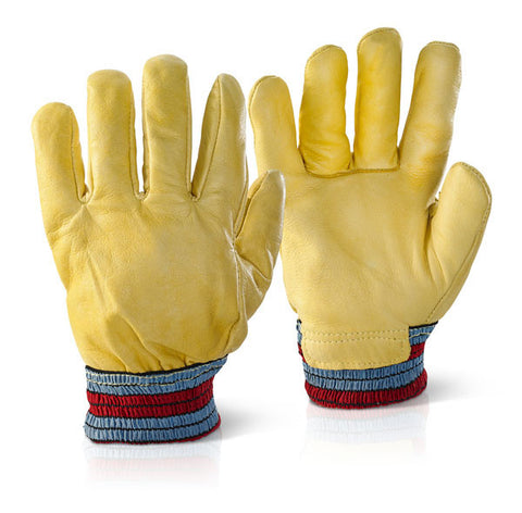 Click 2000 Yellow One Piece Back Freezer Gloves