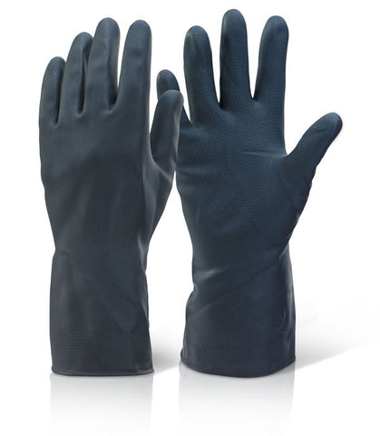 Click 2000 Heavyweight Household Gloves Black
