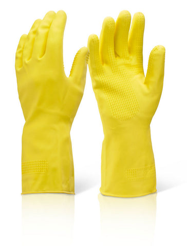 Click 2000 Heavyweight Yellow Household Gloves
