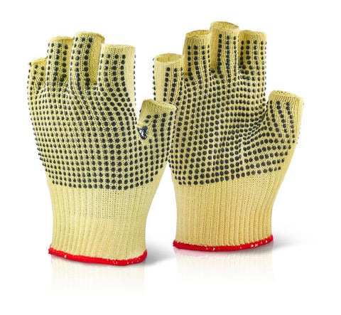 Click Kutstop Fingerless Dotted Gloves