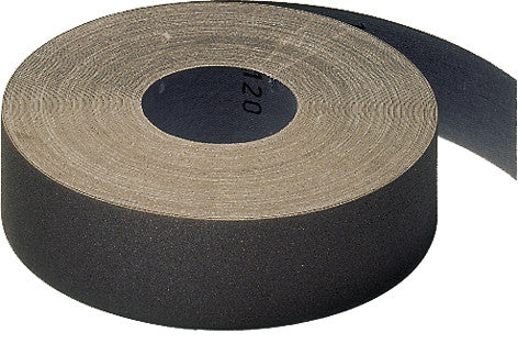 Klingspor KL385 JF Abrasive Cloth Sanding Emery Roll 25mm x 50 Metres