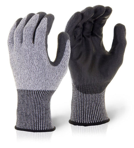 PU Coated Cut Level 5 Gloves