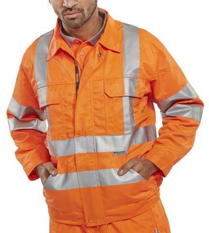 B-Seen Railspec GO RT Orange Jacket