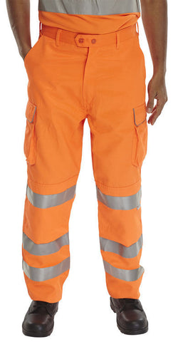 B-Seen Rail Spec GO RT Orange Trousers