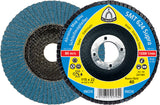 Box (10) Klingspor Zirconium Quality Flap Discs 125mm