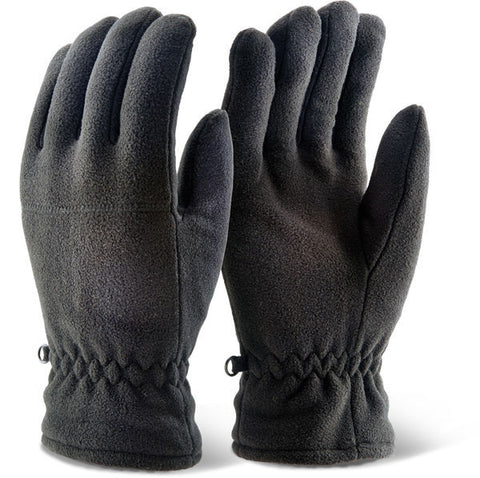 Click 2000 Black Thinsulate Fleece Gloves