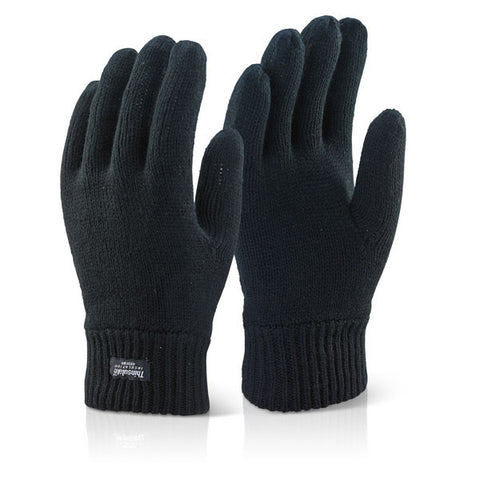 Click 2000 Black Thinsulate Gloves