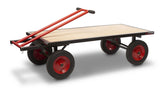 Turntable Truck Robust Large Trolley for Moving Materials