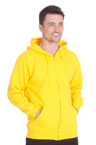 Cheap Adults Full Zip Hooded Sweatshirt