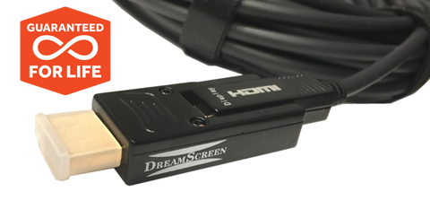 DreamScreen UltraFiber STEALTH HDMI 2.0b Cable 4K60 4:4:4 CUSTOM INSTALL 10-30M