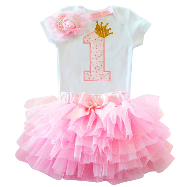 Sunflower Baby Girl Birthday Clothes Sets - Cotton Castles Luxury  Diaper Cakes