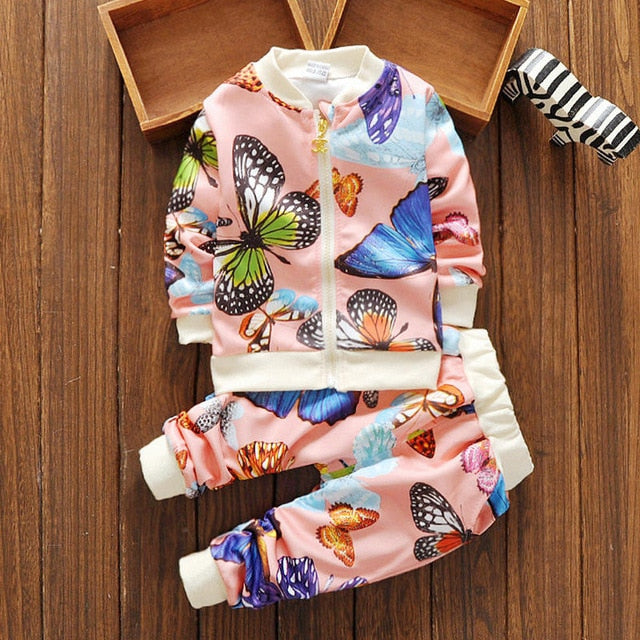 Butterfly Two Piece Sweatsuit
