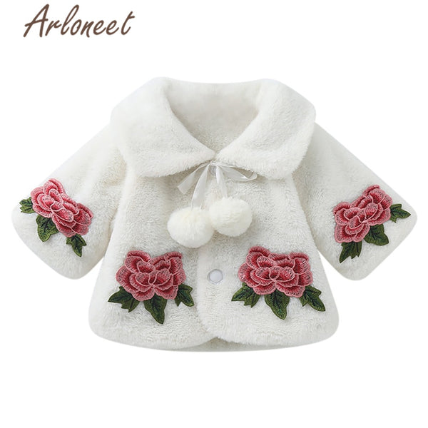 Baby Girl Warm Winter Thick Coat