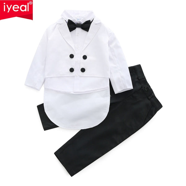 Baby Boys Suits 3 Piece Formal Tuxedo Suit