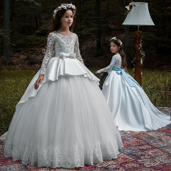 Ruffles Ball Gown