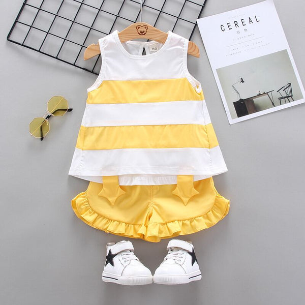 Cotton Vest+Shorts 2pcs