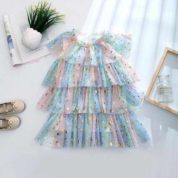 Sparkling Cake Princess Dress
