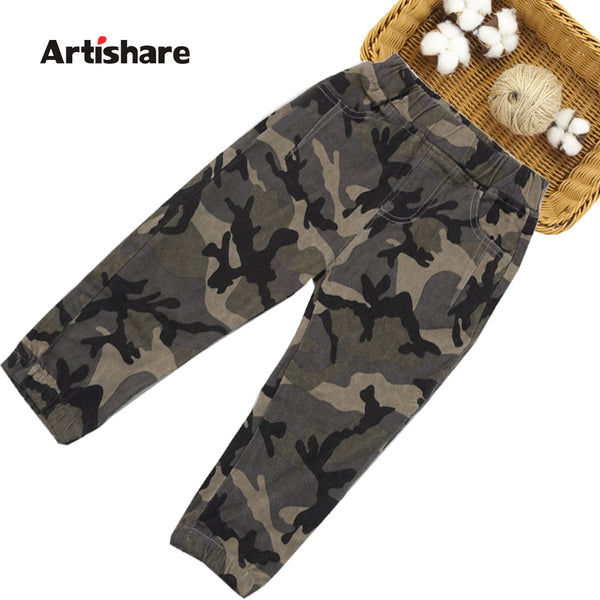 Camouflage  Children's Pants
