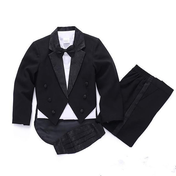 Wedding Suits 5 Pieces Formal Tuxedo - Cotton Castles Luxury  Diaper Cakes