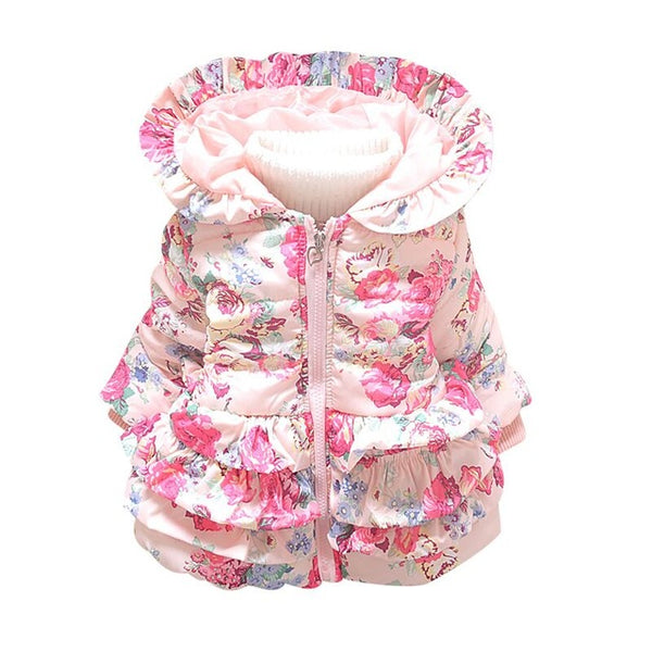 Paisley Puff Jacket - Cotton Castles Luxury  Diaper Cakes