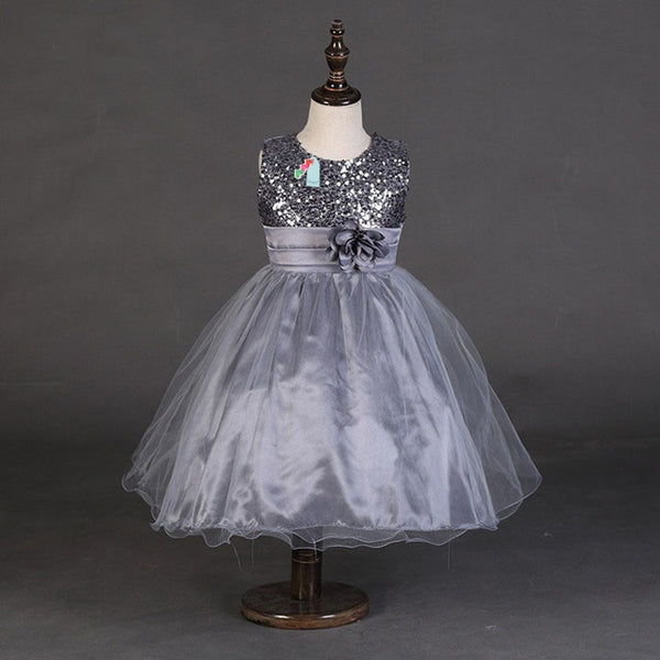 Sequin Flower Girl Dresses - Cotton Castles Luxury  Diaper Cakes