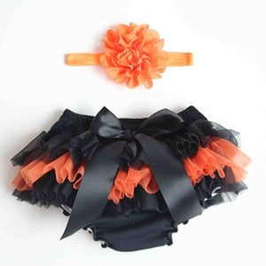 Baby Chiffon Ruffle Bloomers - Cotton Castles Luxury  Diaper Cakes
