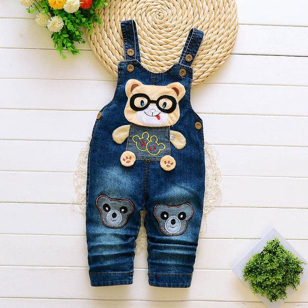 Infant Rompers jeans - Cotton Castles Luxury  Diaper Cakes