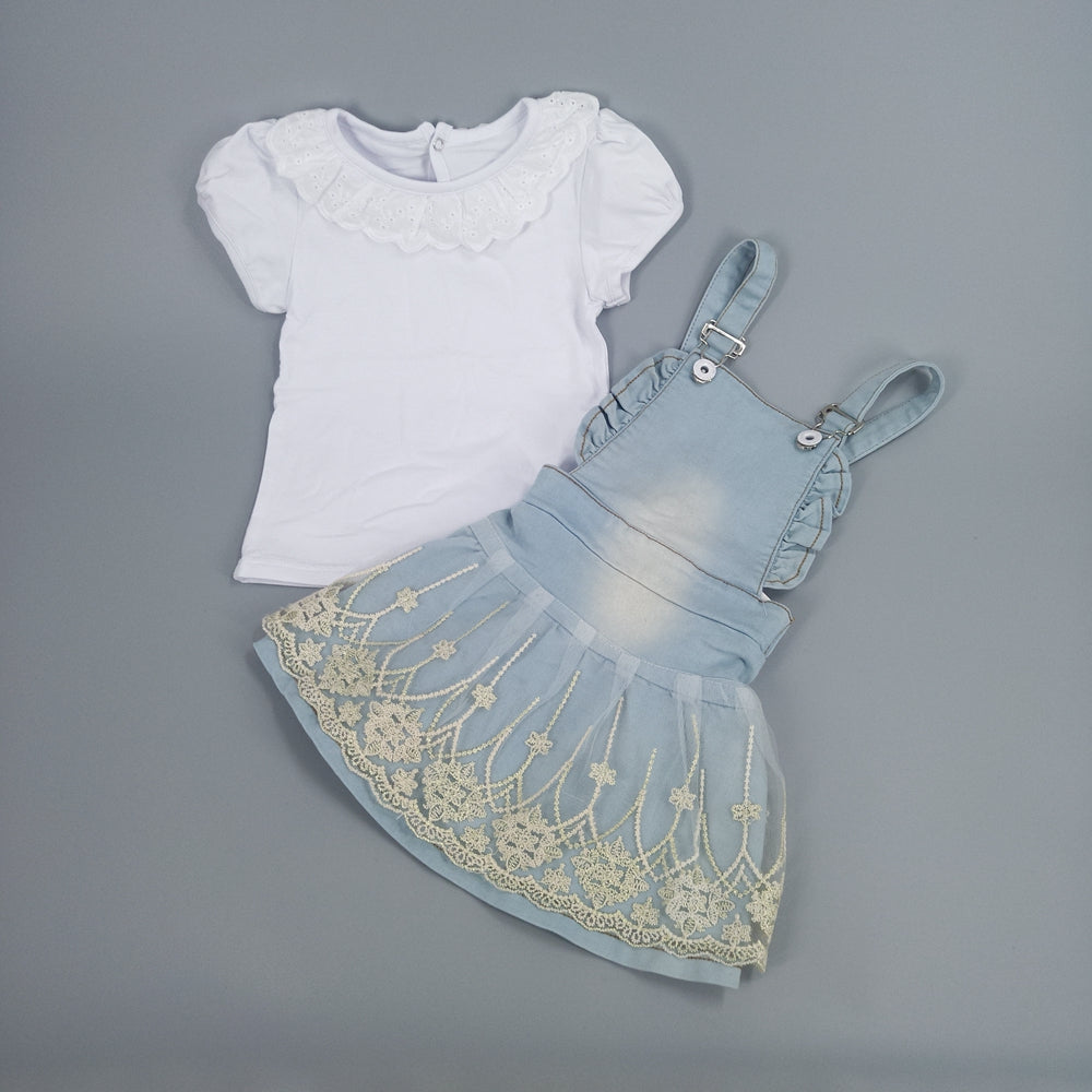 Baby Suspender Skirts 2 pieces - Cotton Castles Luxury  Diaper Cakes