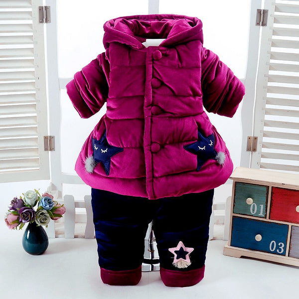 2Pcs Sleeve+Pant Infant Clothing