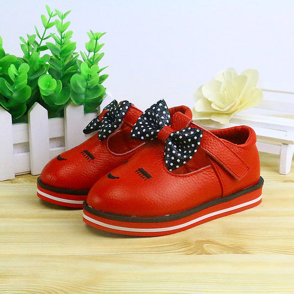 Bowknot Soft Bottom Shoes