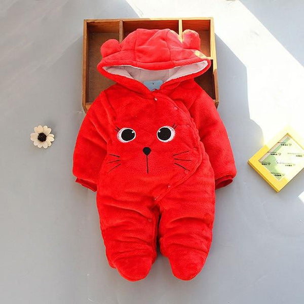 Jumpsuit Infant Cozy Romper - Cotton Castles Luxury  Diaper Cakes