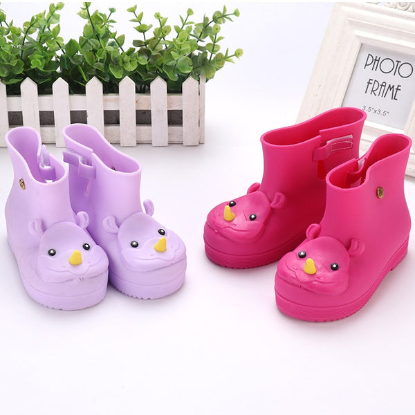 Cute Cartoon Snow Boot Candy Color Rubber