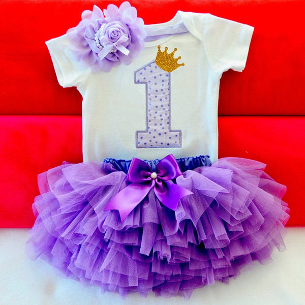 Cute Newborn Baby Girl Romper+Ruffles Tutu - Cotton Castles Luxury  Diaper Cakes