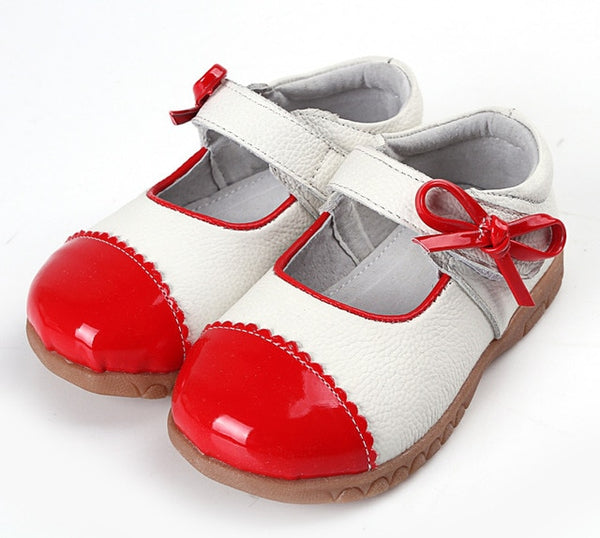 Patchwork Bowtie Sandals - Cotton Castles Luxury  Diaper Cakes