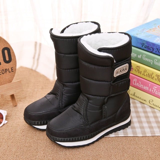 Puffer Stylish Snow Boots - Cotton Castles Luxury  Diaper Cakes