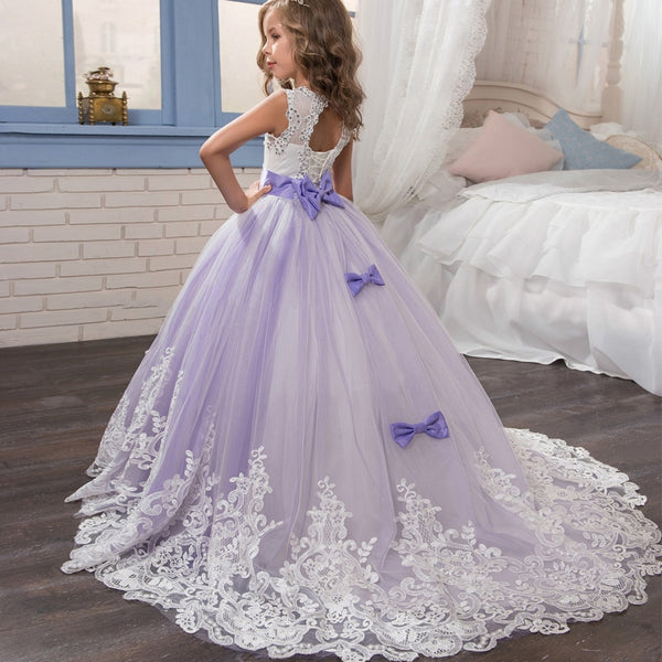 Princess Ball Gown Lace Dresses - Cotton Castles Luxury  Diaper Cakes