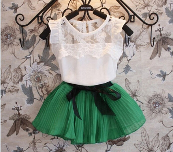 Sweet Princess Dress+Tops Set