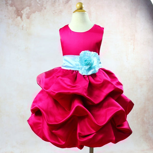 Princess Flower Cake Gown