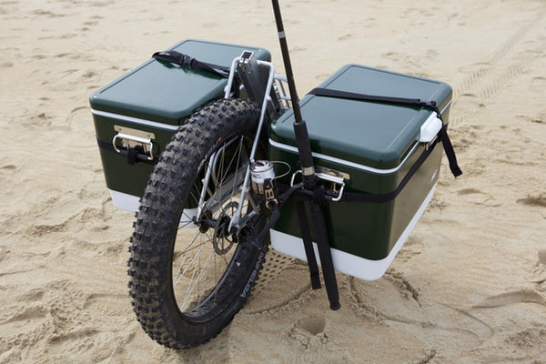 beach surf fishing cart