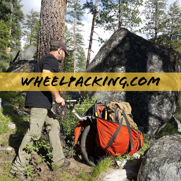 honey badger wheel backpacking cart