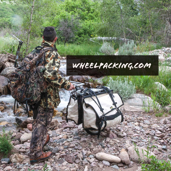 honey badger wheel hiking cart