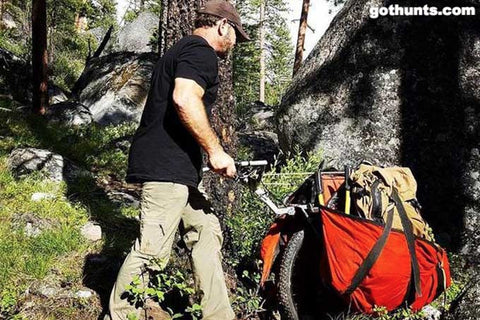 Backpacking Cart for Hiking and Camping